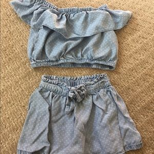 Toddler two piece